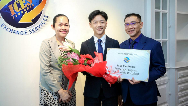 ICES Cambodia's First High School Exchange Program